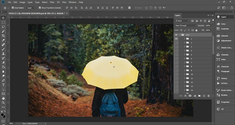 CC Pack Photoshop Color Correction Pack (40 cc's)