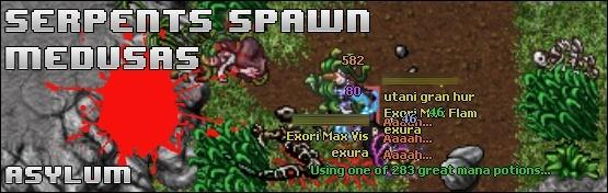 [D] Serpent Spawn & Medusas of Asylum
