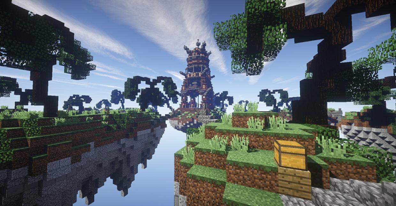 Fantasy Skywars Map