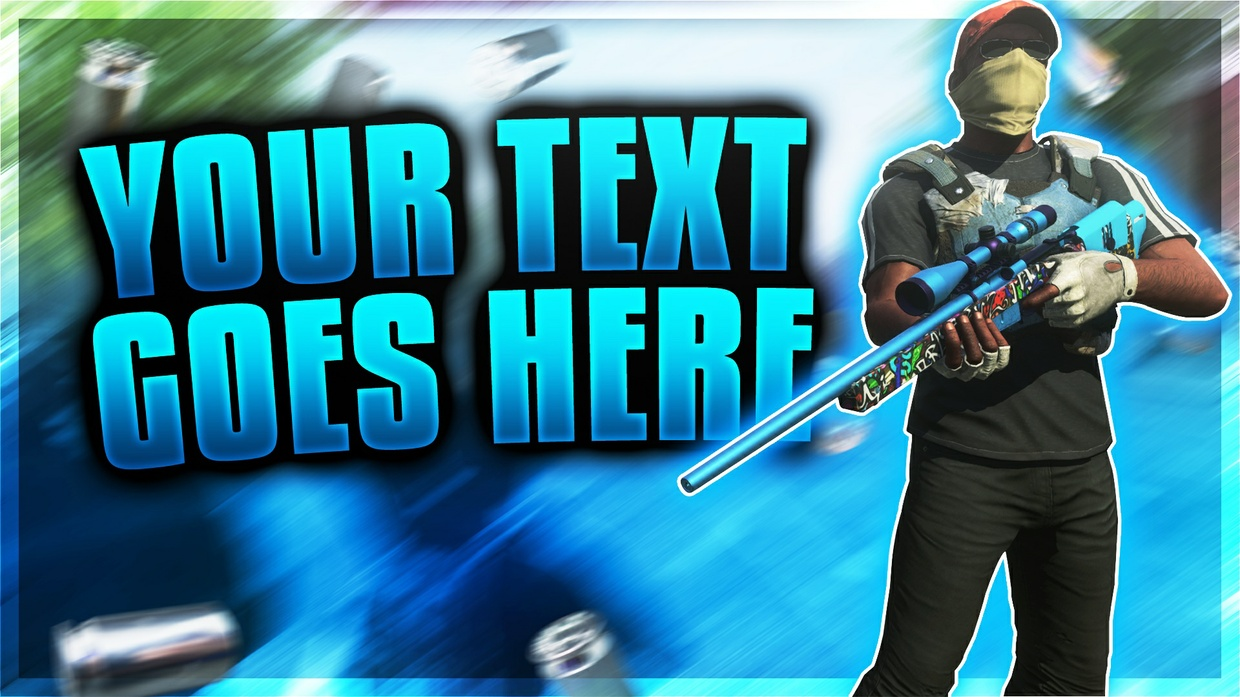 H1Z1 Thumbnail Template Pack