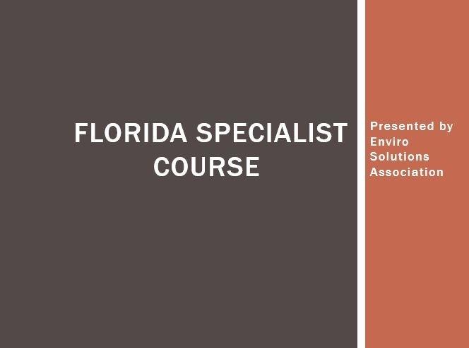 Florida Radon Measurement Inspection Prep Course