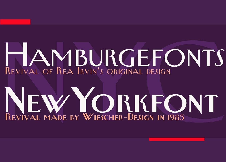 New Yorker Type