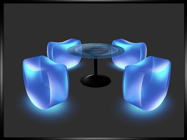 Neon Seats Table
