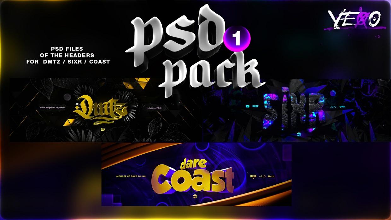 PSD PACK #1