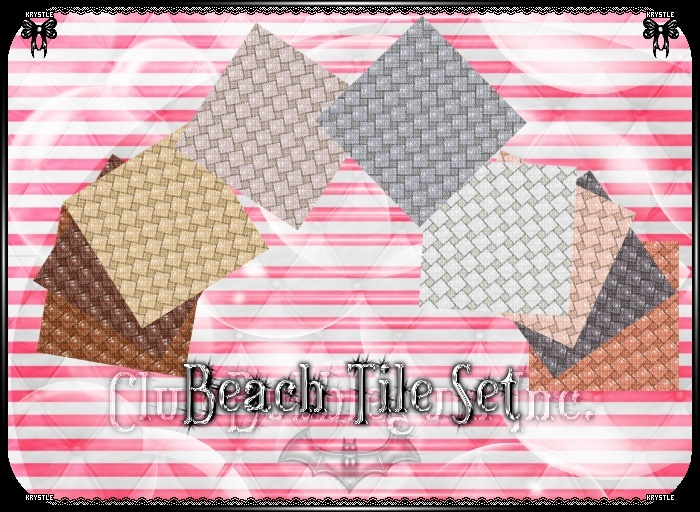 💎 Beach Tile Set