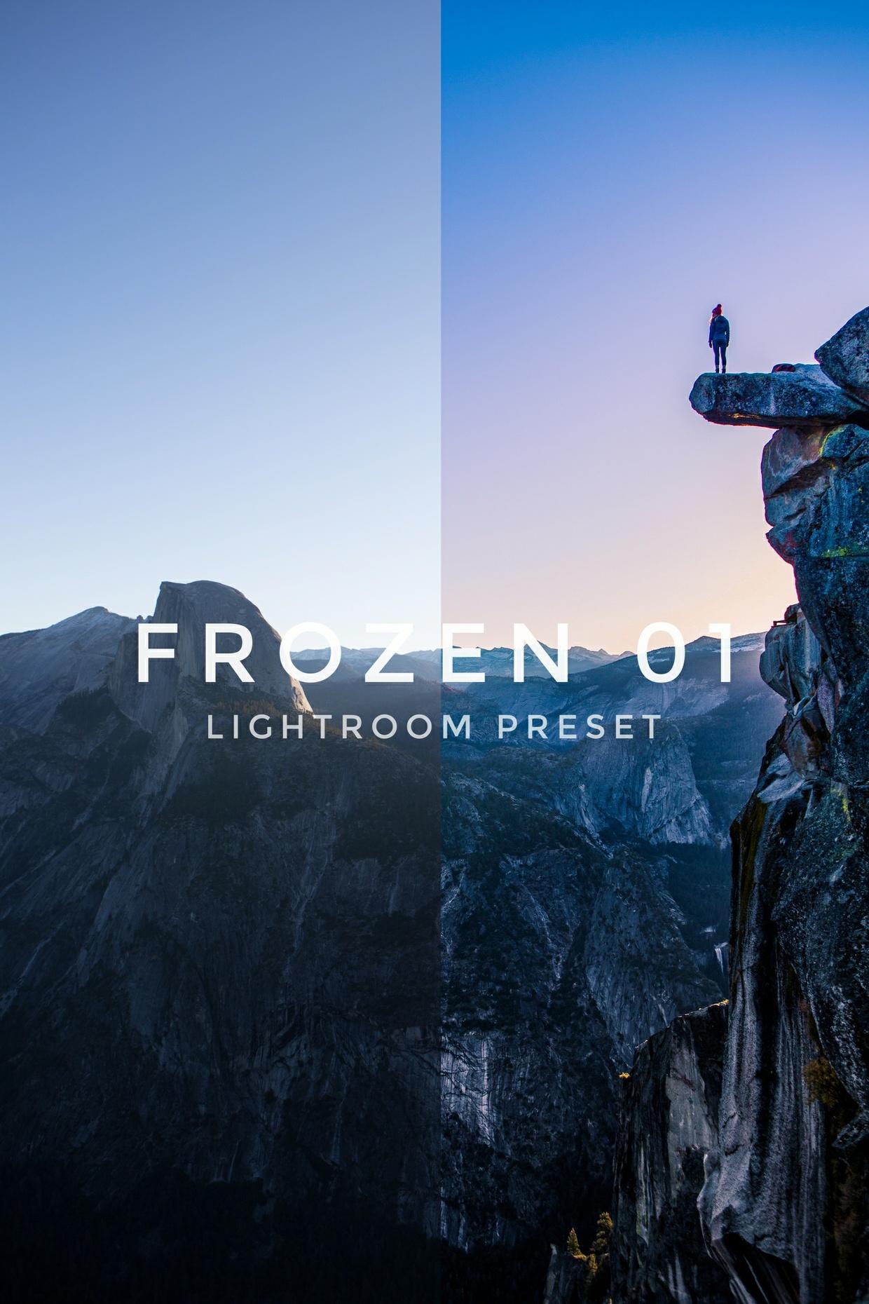 Frozen01 Lightroom preset