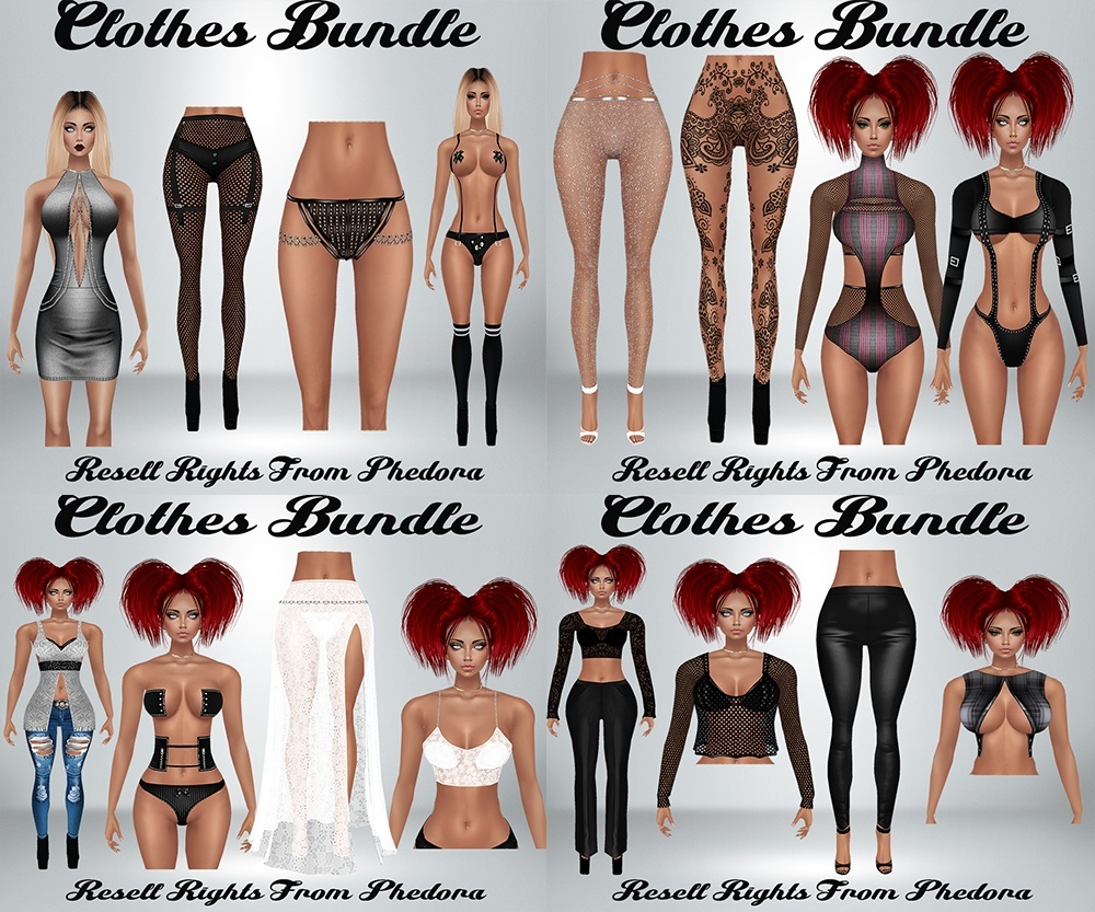 Clothes Bundle - Easter Files AP & GA Catty Only!!! (22 Files)