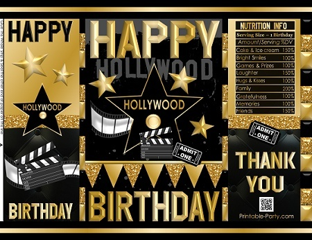 printable-potato-chip-bags-birthday-party-favors-hollywood-gold