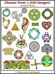 Aon Celtic Clipart Bundle & Viewer