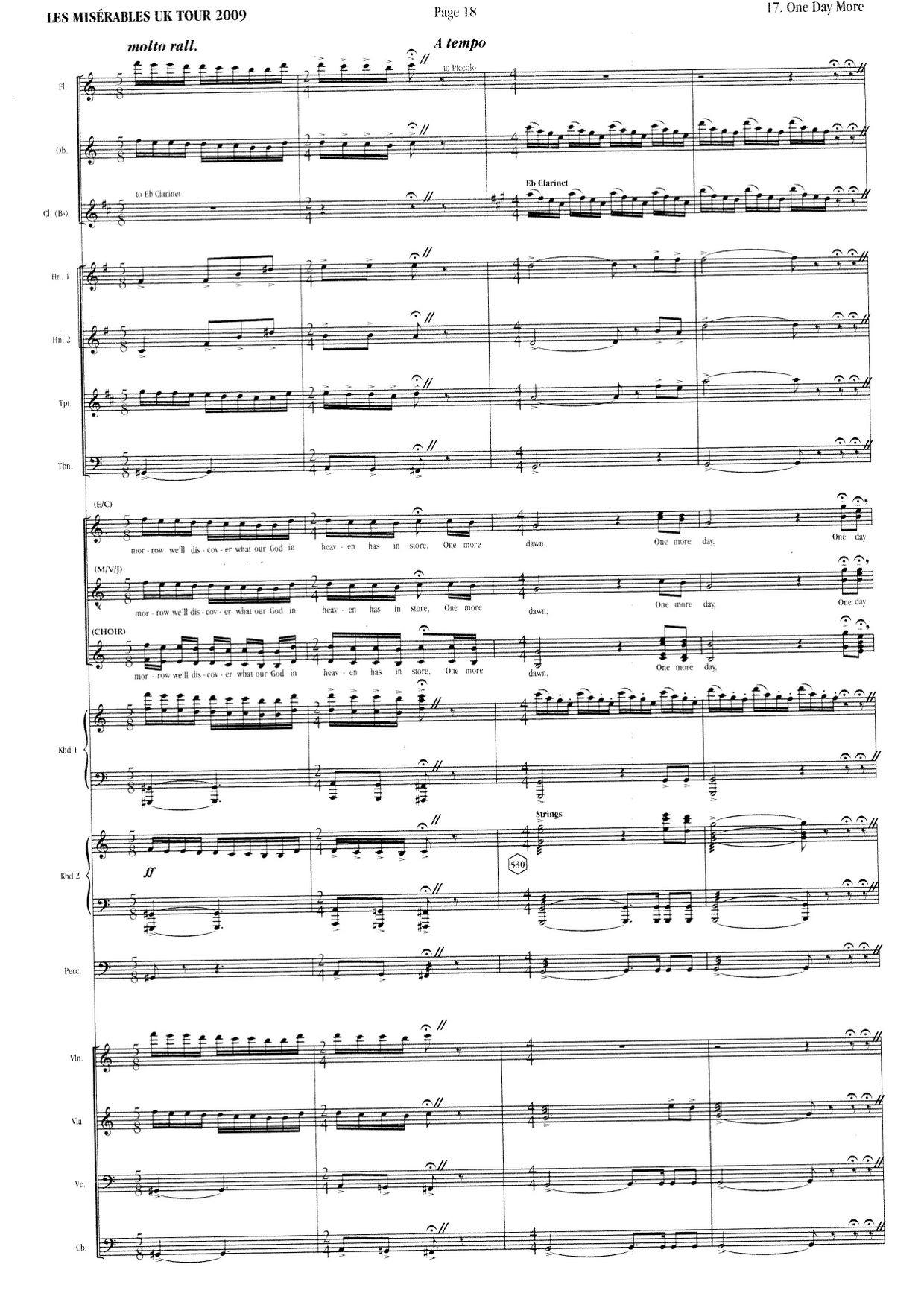 les miserables full orchestral score pdf