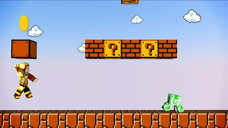 Mario backround