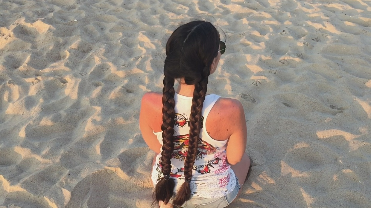 Long Thick Hair on the Black Sea