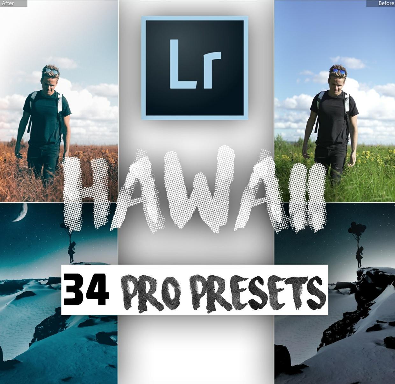 """HAWAII PRO PLUS"" 34 Pro Travel Lightroom Presets // UPGRADE YOUR INSTAGRAM"