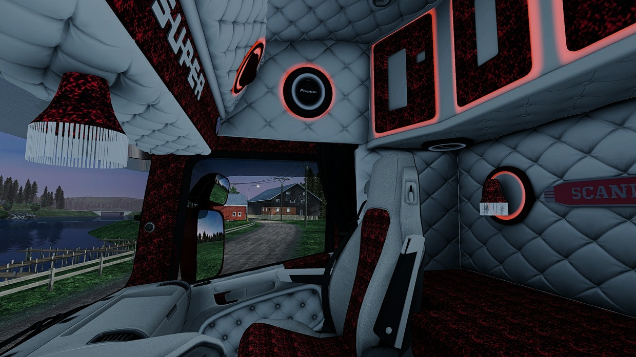Scania RJL Holland / Danich / VABIS Interior ETS 2