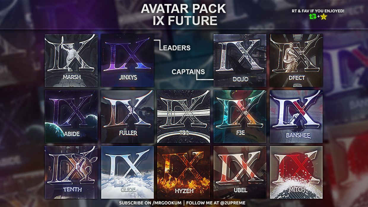 Avatar pack / Revamp