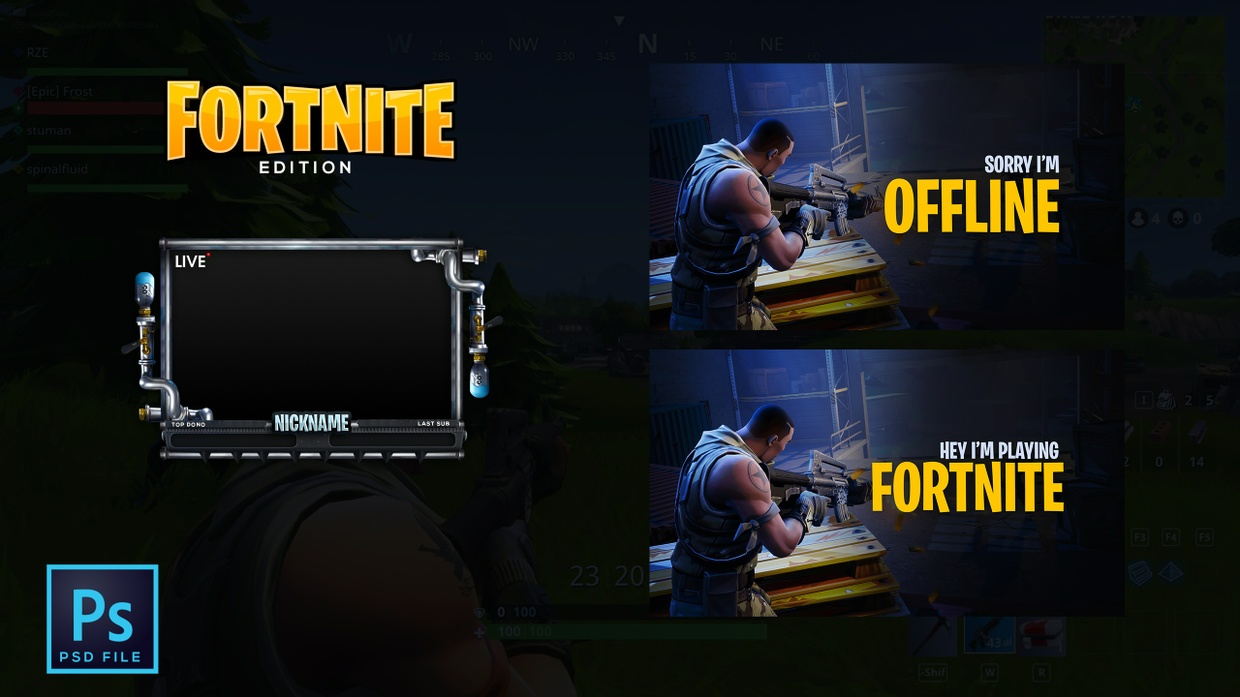 Fortnite Edition Twitch Package