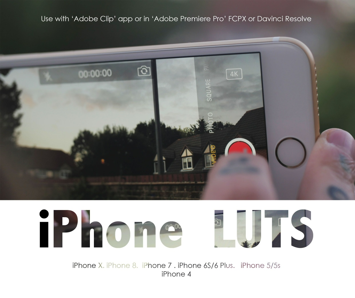 iPhone LUTS