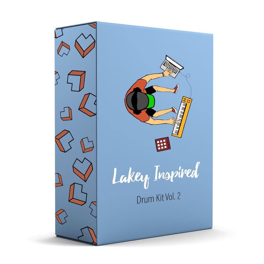 LAKEY INSPIRED Drum Kit Vol. 2