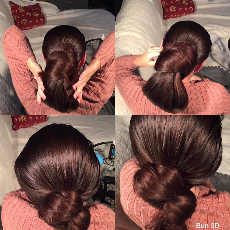 3D bun from Mila