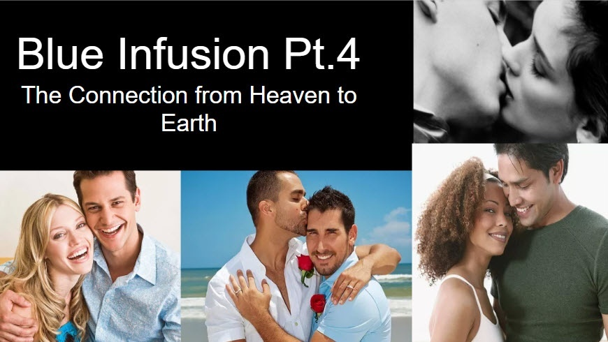 Blue Infusion Webinar - Part 4  Connection from Heaven to Earth©