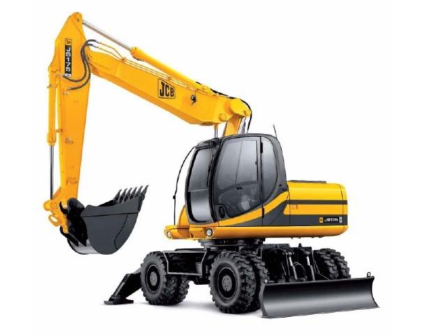 JCB JS130W, JS145W, JS160W, JS175W Auto Tier III Wheeled Excavator Service Repair Manual