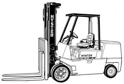 Hyster Forklift Truck D004 Series: S70XL, S80XL, S100XL, S110XL, S120XLS, S120XL Spare Parts List
