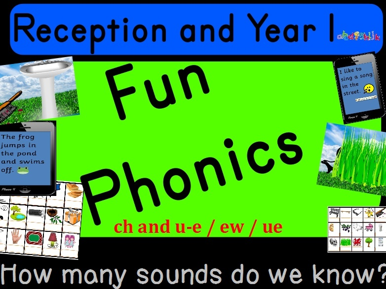 PHONICS CH AND U_E - RECEPTION AND YEAR 1
