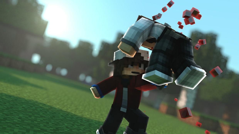 """""""Minecraft Intro Animation ON"""""""