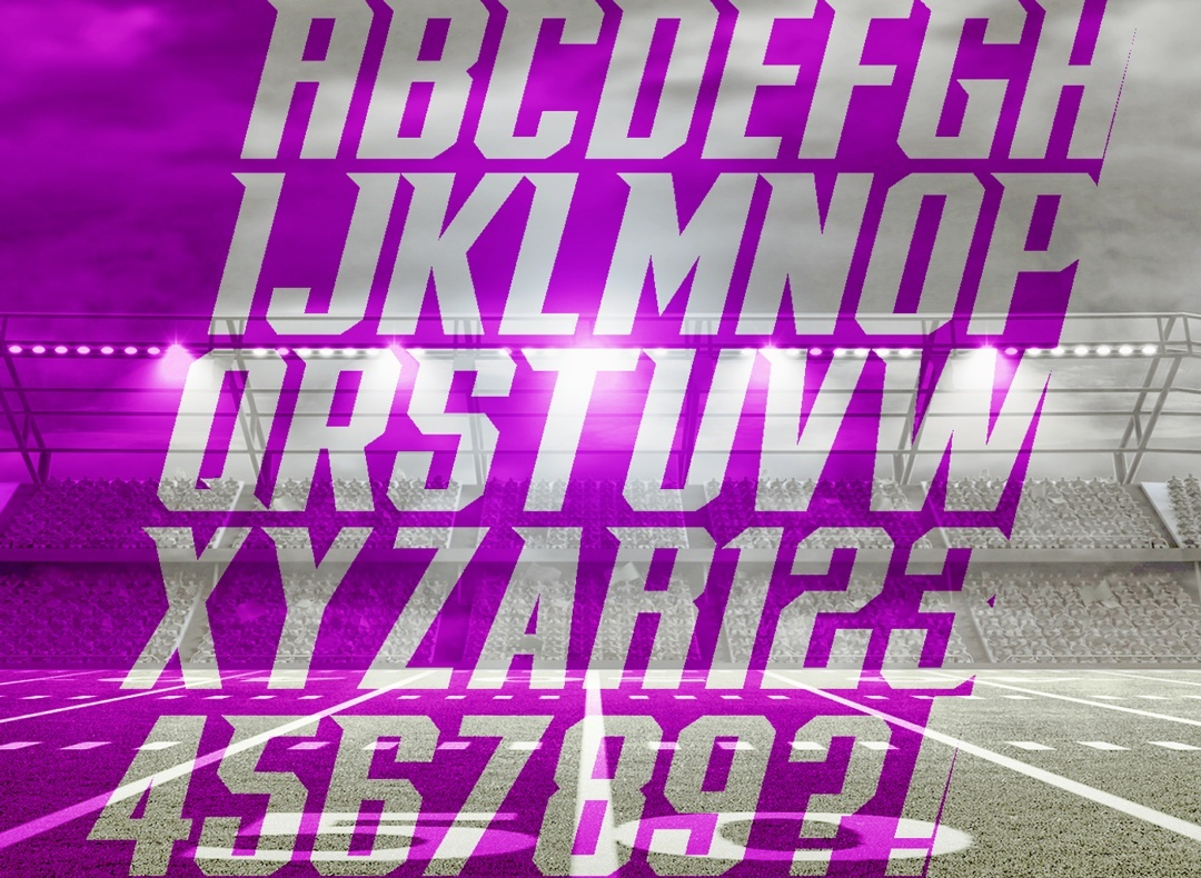 FOOTSOLDIER FONT