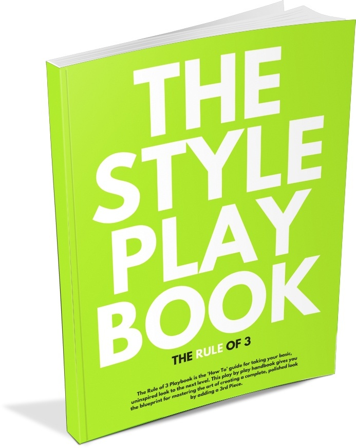 The Style Playbook - The Rule of 3