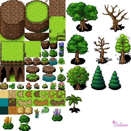 "Celianna's Parallax Tiles ""Nature Tiles"""