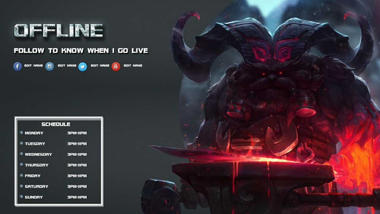 Ornn Offline Screen