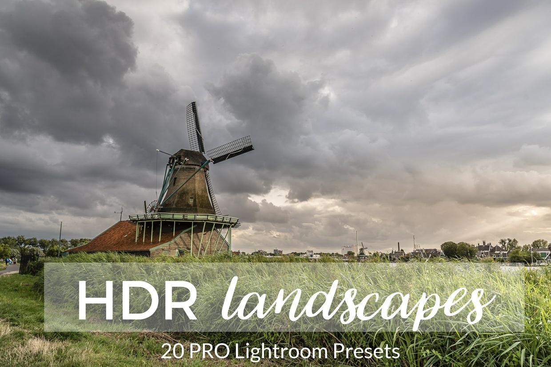 Landscape HDR Lightroom Presets