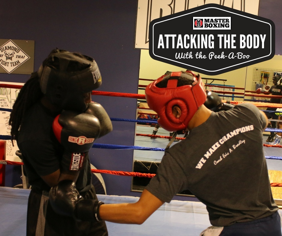 Master Boxing Peek-A-Boo Attacking The Body Single