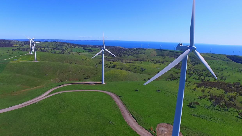 Wind Farm Motion Video Background - $4.95