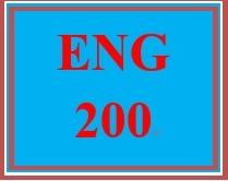 ENG 200 Week 3 Organizing the Persuasive Essay
