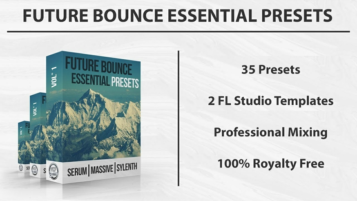 FUTURE HOUSE & BOUNCE PRESETS - Vol° 1