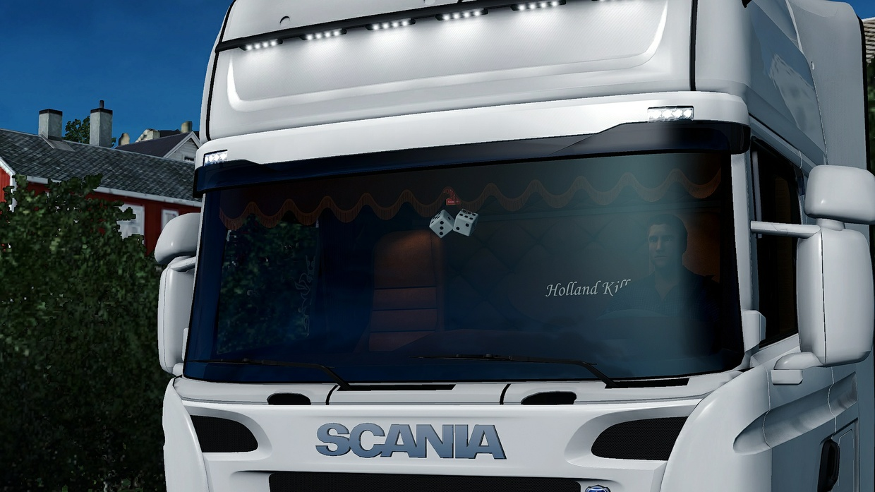 Scania RJL Holland / Danich / HOLLAND KILLER Interior ETS 2