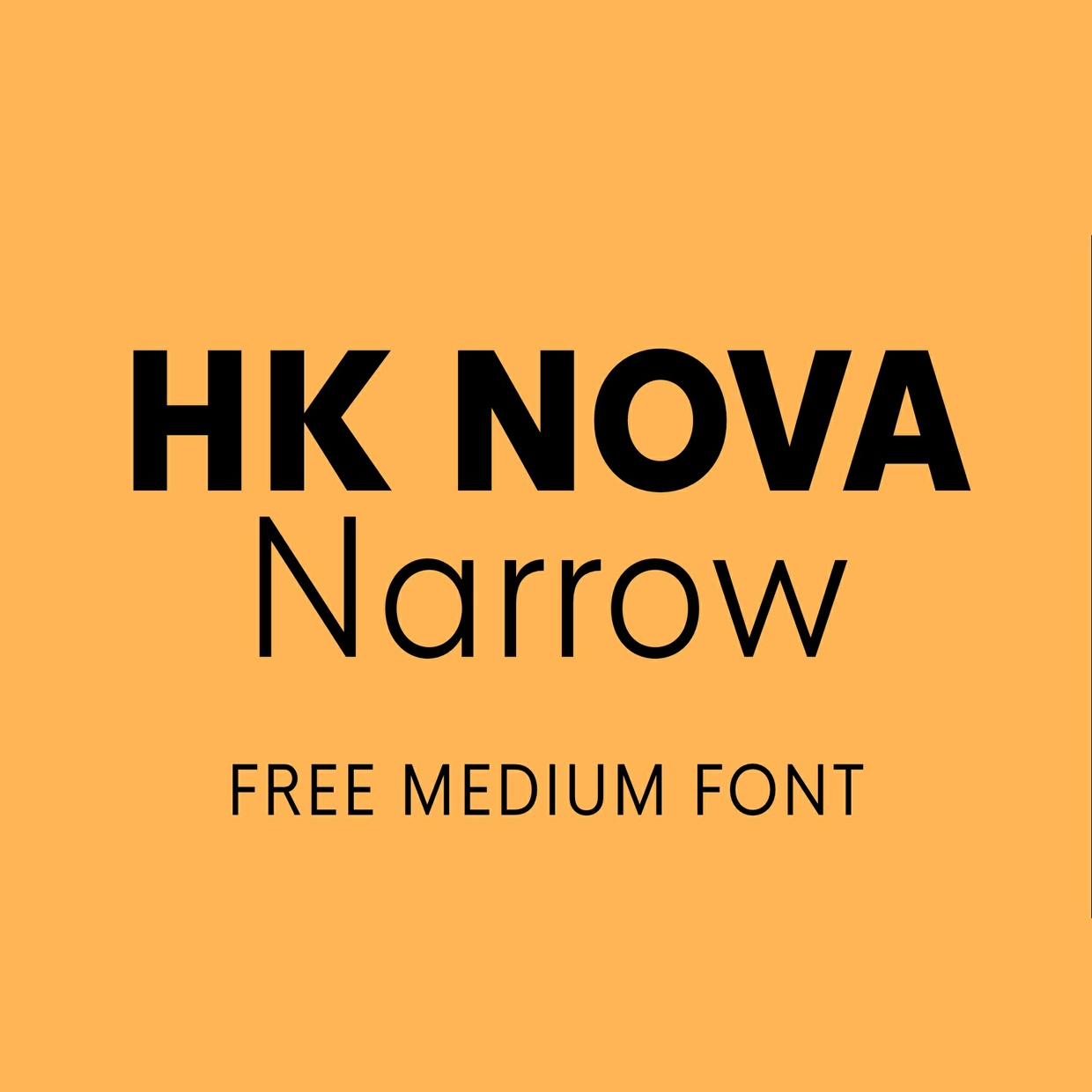 HK Nova Medium Narrow