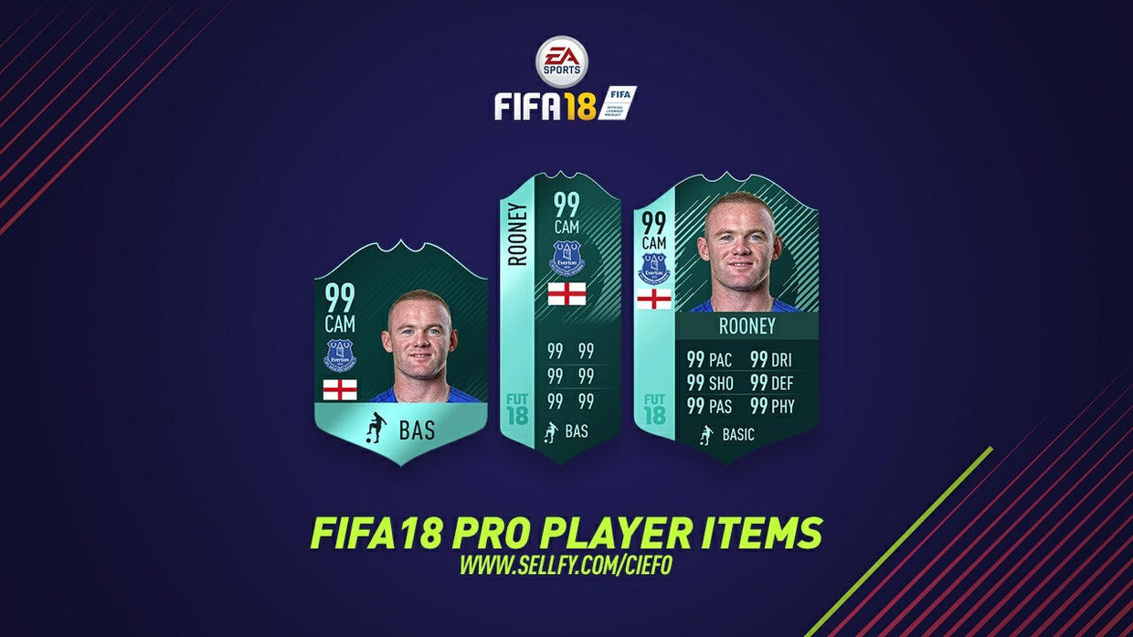 FIFA 18 PRO PLAYER ITEMS