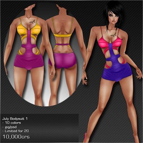 2013 Jul Bodysuit # 1