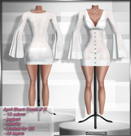 2014 Apr Short Dress # 2
