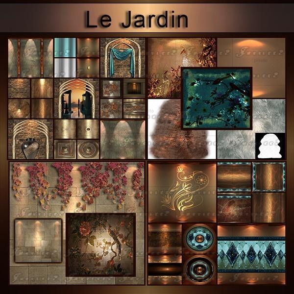 [J]Le_Jardin _43 _Textures