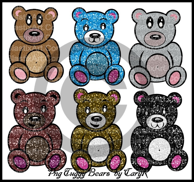 Png Tuggy Bears By caryR