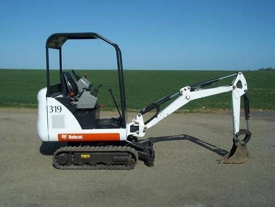Bobcat 319 Compact Excavator Service Repair Manual DOWNLOAD (SN: 563311001 & Above)