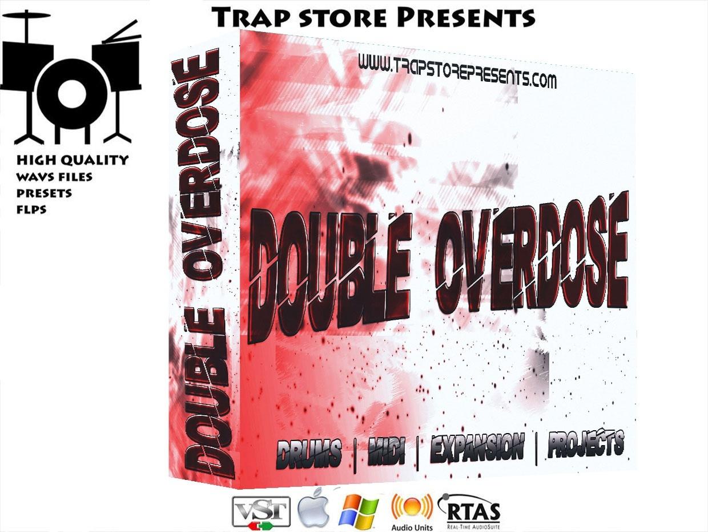 Trap Store Presents - DOUBLE OVERDOSE DRUM KIT / MIDI / 6 FLP / EXPANSIONS / TEMPLATE