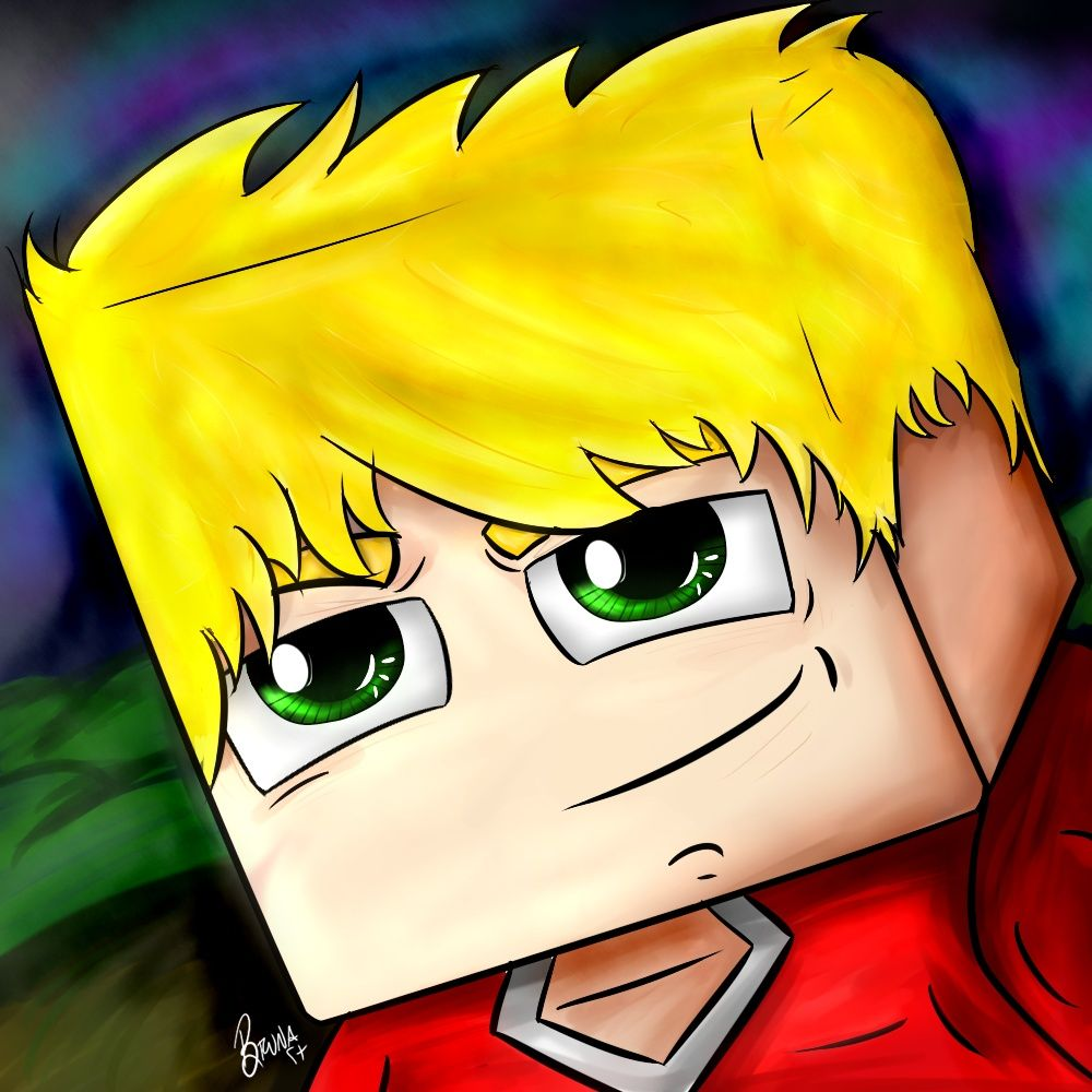 Avatar Cartoon Minecraft - Masculino