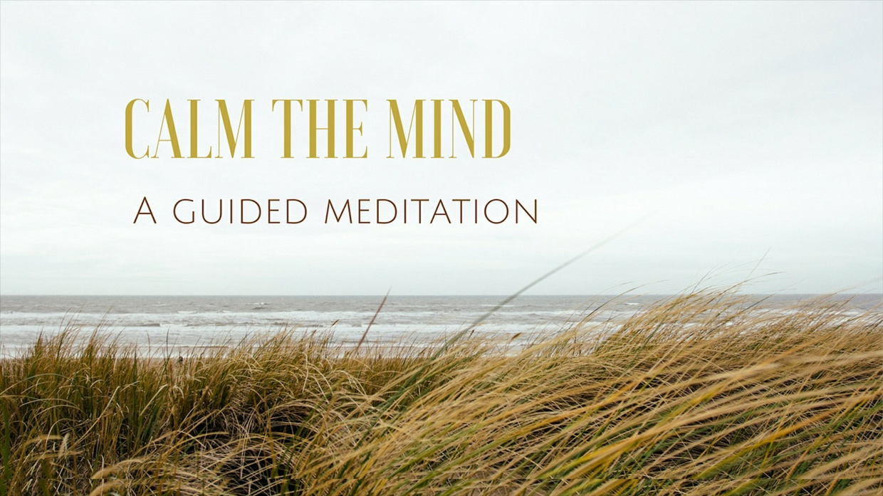 CALM THE MIND a guided meditation for relaxation and sleep