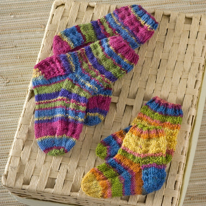 Knit Kids Socks