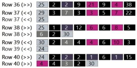 Audrey Hepburn Color Blocks